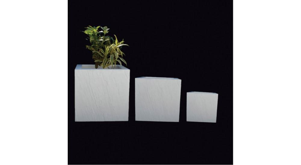 FRP Cube decor & Planter - LP3 - Best Planters
