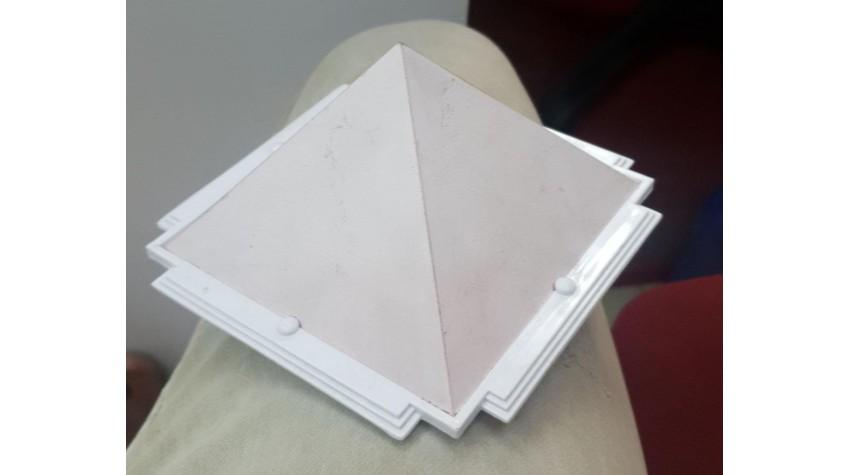 White Vastu Pyramid 5 Inches